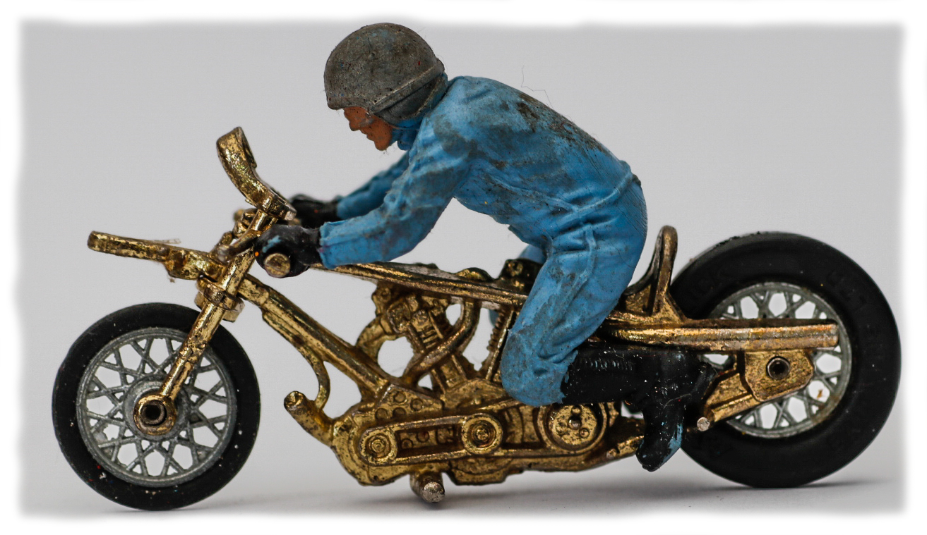 Britains Drag Bike and rider
