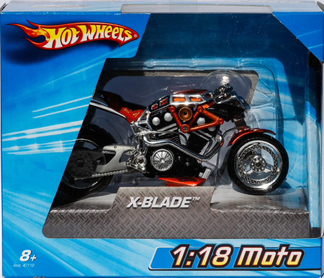Hot Wheels 1-18 Moto X-Blade