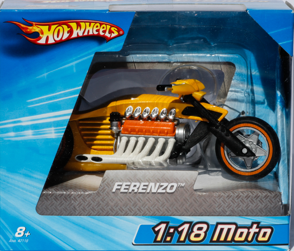 Hot Wheels 1-18 Moto Ferenzo