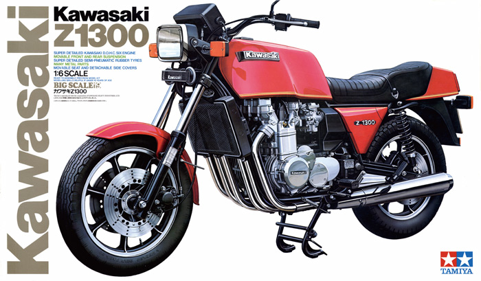 Kit Kawasaki Z1300 box