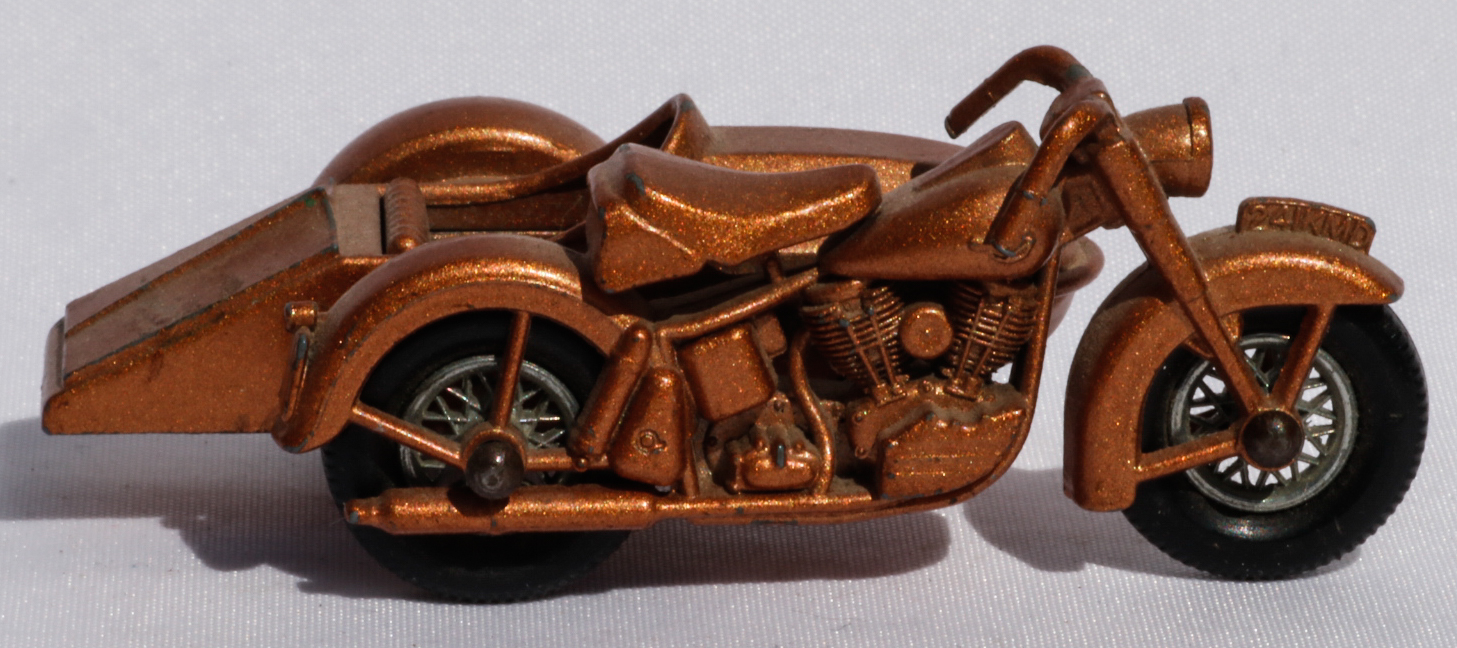 Matchbox Harley Davidson and Sidecar