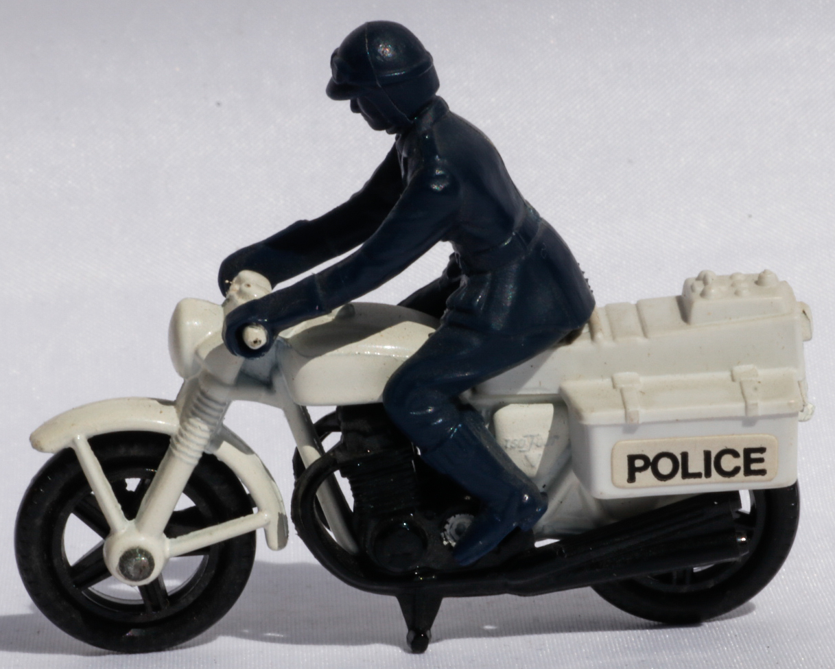 Matchbox Police Motor Cyclist