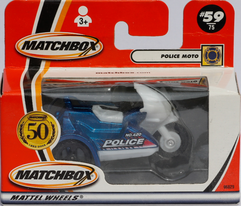 Matchbox Police and Sidecar