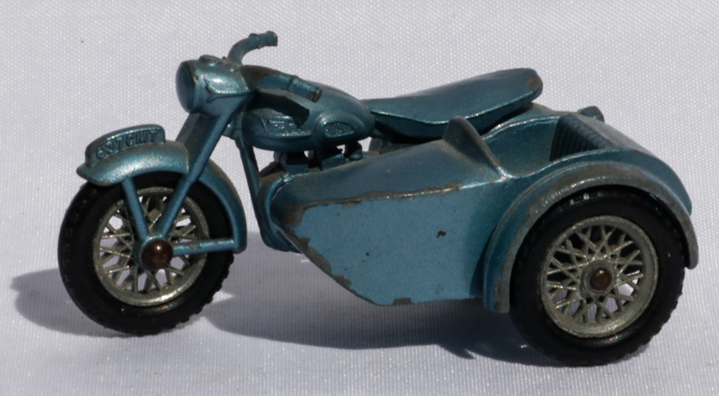 Matchbox Triumph and Sidecar