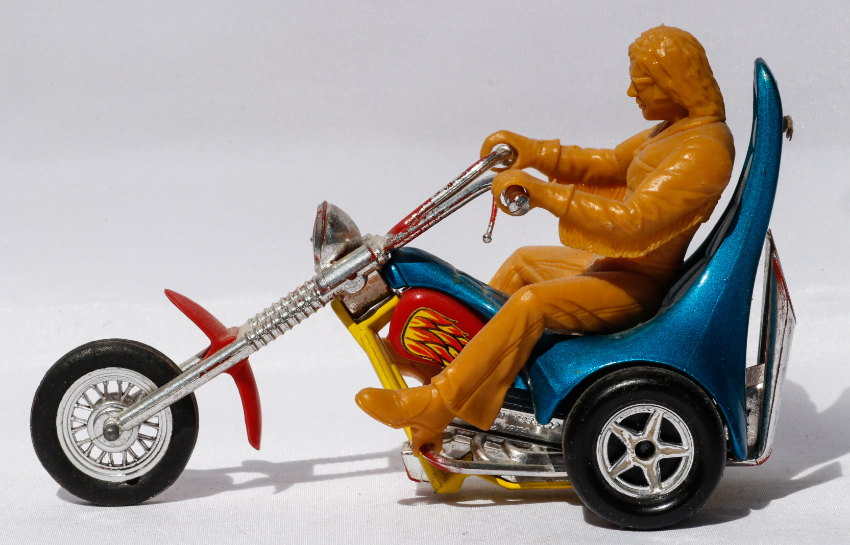 Matchbox Easy Rider Trike and Rider